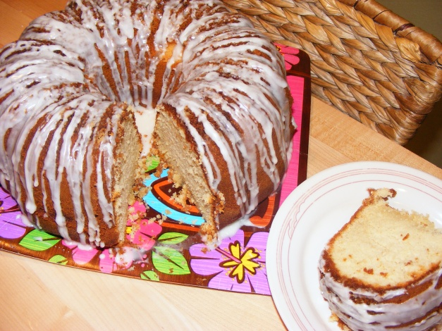 Short~n~Sweet lb. Cake (Almond w/Lime Drizzle)