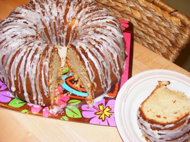 Short~n~Sweet lb. Cake (Almond w/Lime Drizzle)